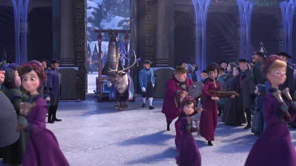 Frozen   Ledové království Vánoce s Olafem (2017) SK Dabing mkv