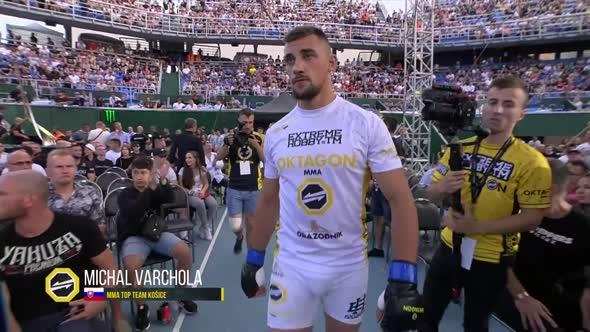 OKTAGON 13 Hošek vs  Varchola mkv