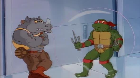 Zelvy Ninja   Teenage Mutant Ninja Turtles 1987 33   Ujmete se veleni CZ dabing avi