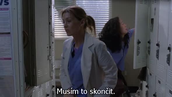 Greys Anatomy S01E06 CZ Titulky avi