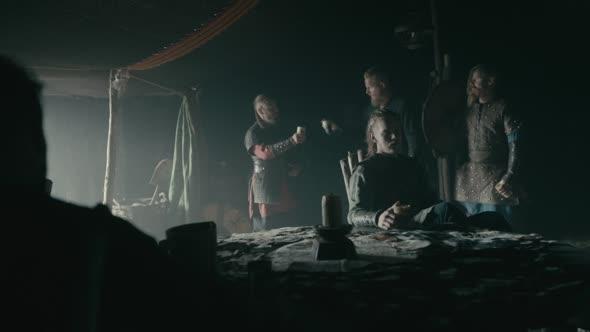 Vikings S05E01 The Departed 1 720p AMZN WEB DL DDP5 1 H 264 NTb mkv