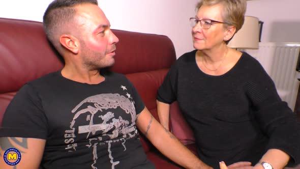 Angie (EU) (65)   German Grandma loves fucking her sons best friend mp4