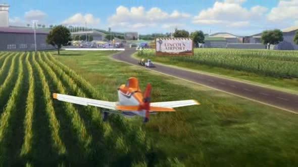 Letadla (2013) animovaný, cz dabing avi