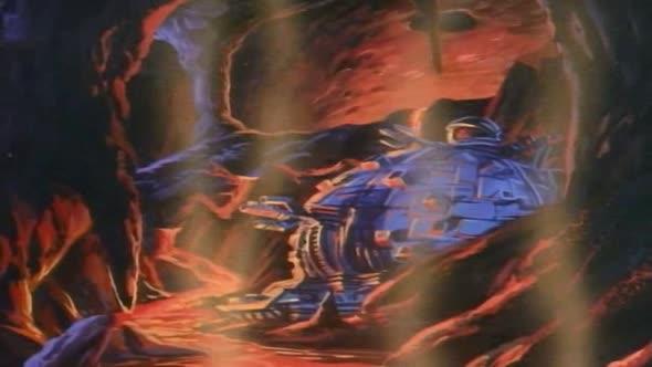Zelvy Ninja   Teenage Mutant Ninja Turtles 1987 36   Jedem z kopce plechaci CZ dabing avi