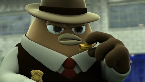 Fazole Bean novinka animovane Cz 2011 avi