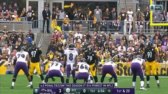 NFL 2019 2020  Week 05  06 10 2019  Baltimore Ravens @ Pittsburgh Steelers mkv