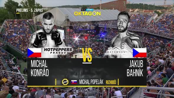 OKTAGON 13 Bahník vs  Konrád mkv