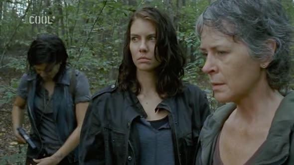 Živí mrtví The Walking Dead S06E13   Na jedné lodi avi