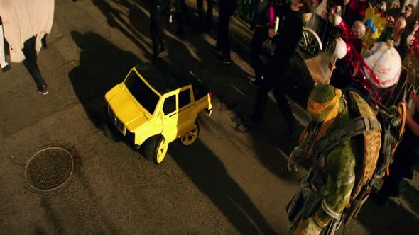 Želvy Ninja 2 Teenage Mutant Ninja Turtles 2 (2016) CZ dabing mkv