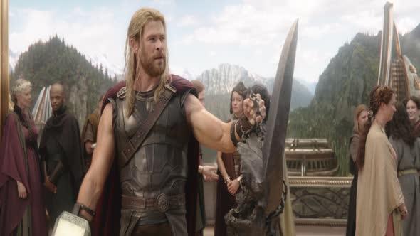 Thor Ragnarok 2017 1080p AC3 2 0 CZ H265 mkv