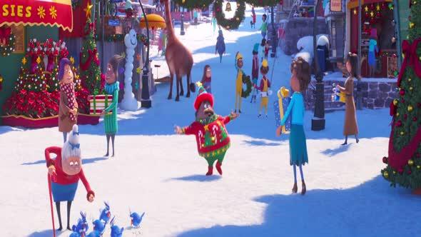 Grinch How the Grinch Stole Christmas Animovaný  Komedie  Rodinný  Fantasy USA, 2018, 86 min 1080p CZ Dabing mkv