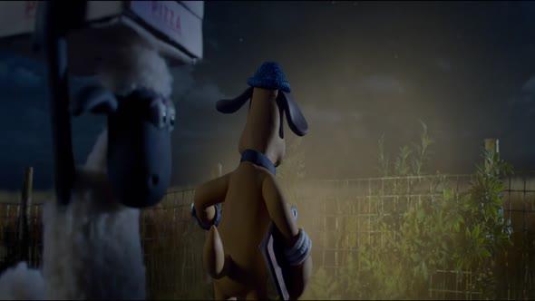 Ovečka Shaun ve filmu   Farmageddon avi