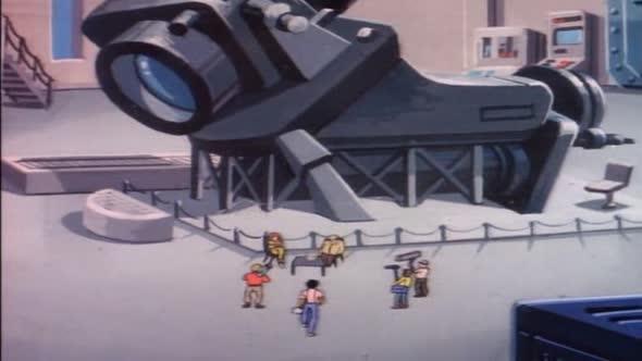 Zelvy Ninja   Teenage Mutant Ninja Turtles 1987 21   Utok obri Irmy CZ dabing avi