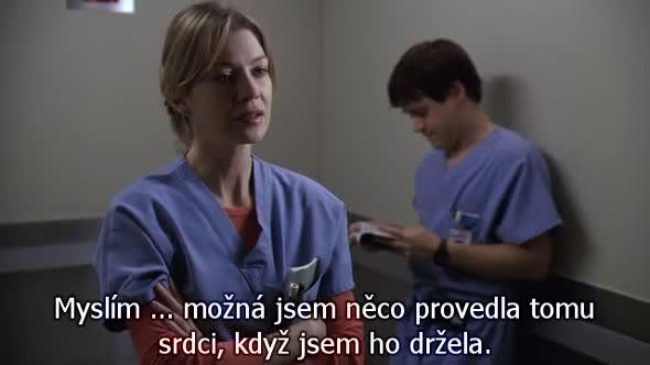Greys Anatomy S01E05 CZ Titulky avi