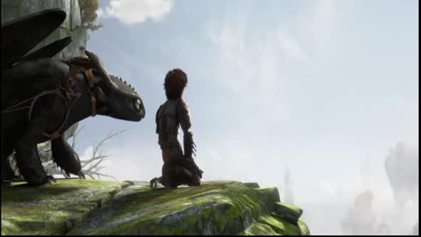 Jak vycvičit draka 2 avi