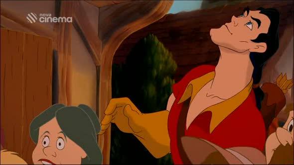 animovaný Kráska a zvíře cz avi