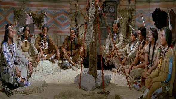 Vinetou 2  Rudý gentleman (1964) CZ dabing avi