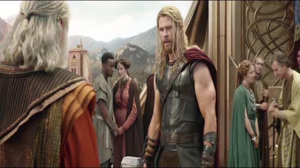 Thor Ragnarok 2017 1080p BDRip x265 HEVC AC3 2 0 CZ mkv
