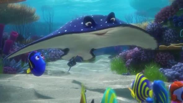 Hledá Se Dory (2016) CZ Dabing   Animovaný avi