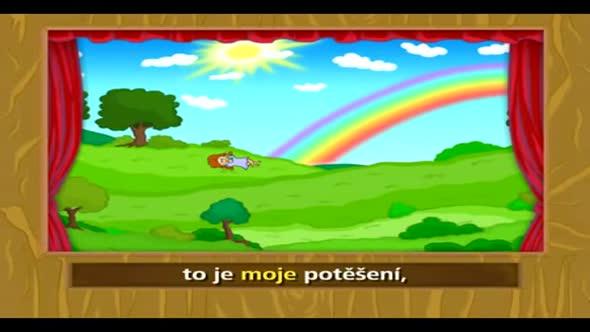 Pisnicky pro deti   Travicka zelena avi